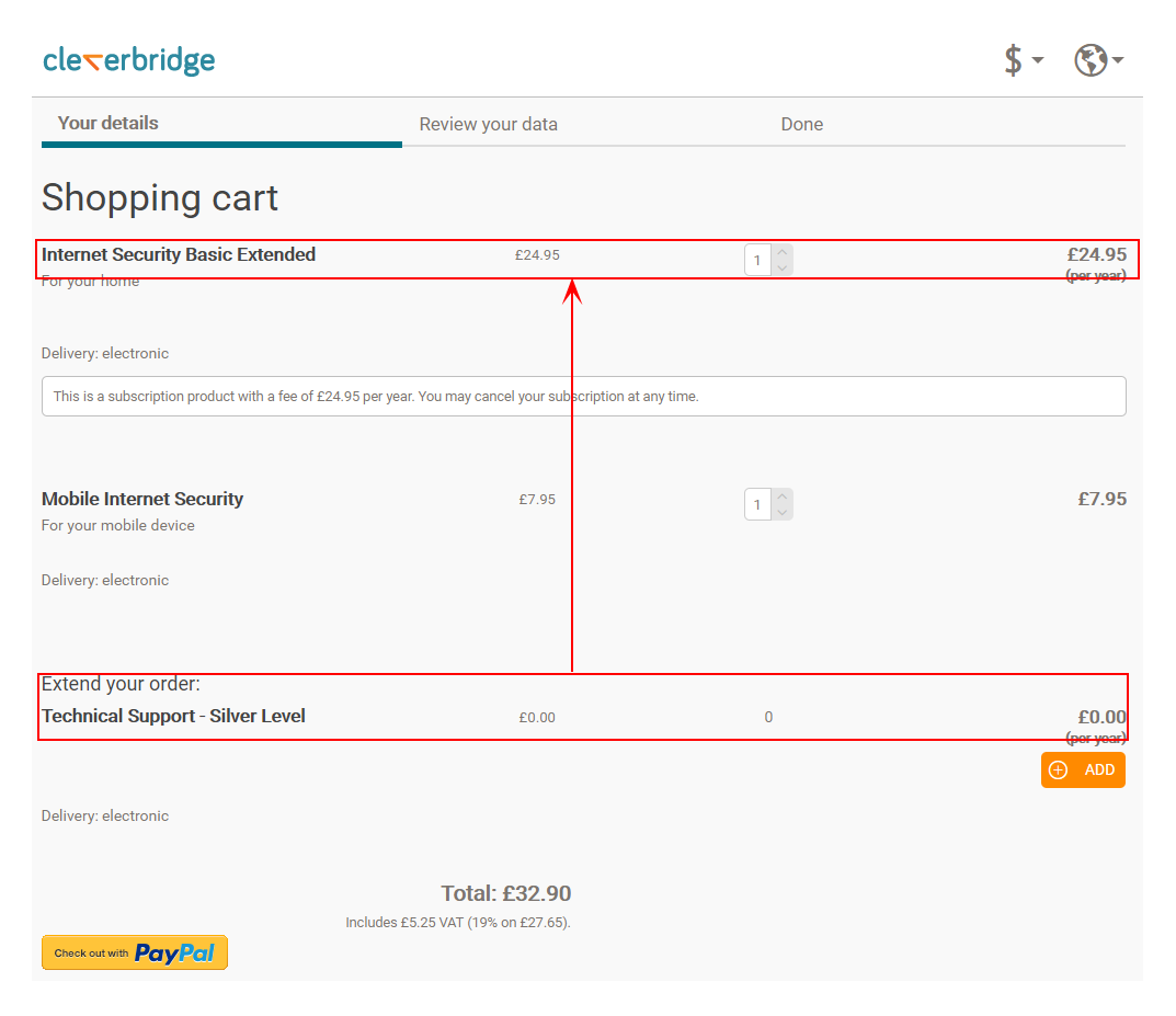 find a license key from cleverbridge